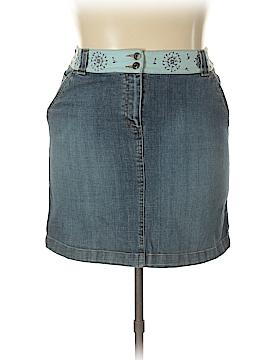 Talbots Denim Skirt Size 14 (Petite)