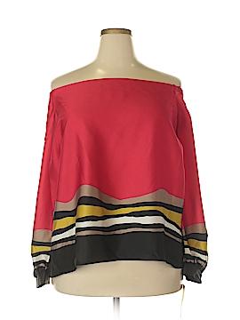 RACHEL Rachel Roy Long Sleeve Blouse Size 20W (Plus)