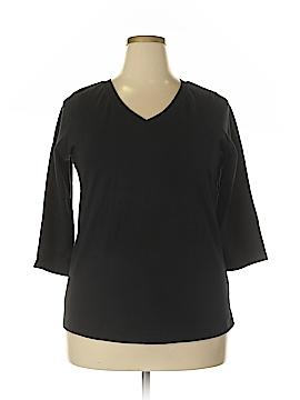 Jessica London 3/4 Sleeve T-Shirt Size 1X (Plus)