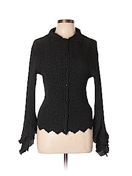 Komarov Long Sleeve Button-Down Shirt Size L