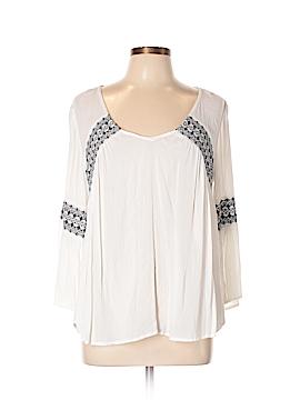O'Neill Long Sleeve Blouse Size L