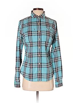 Eastern Mountain Sports Long Sleeve Button-Down Shirt Size S