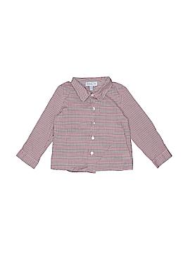 Baby CZ by Carolina Zapf Long Sleeve Button-Down Shirt Size 18-24 mo