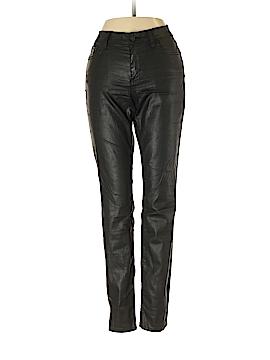 Joie Faux Leather Pants 27 Waist