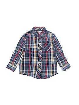 Arizona Jean Company Long Sleeve Button-Down Shirt Size 2T