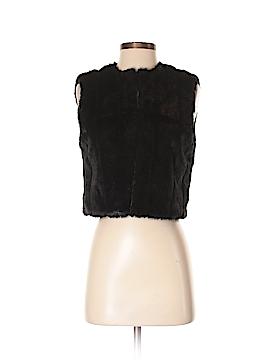 IMAN Faux Fur Vest Size XS