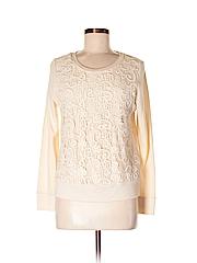 Merona Women Sweatshirt Size M