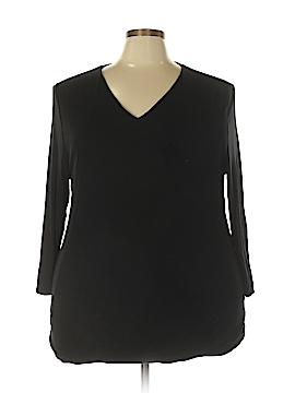 INC International Concepts Long Sleeve T-Shirt Size 3X (Plus)