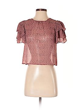 Viva Vena! by Vena Cava Short Sleeve Blouse Size XS