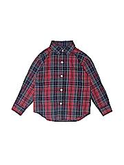 Nautica Boys Long Sleeve Button-Down Shirt Size 3T