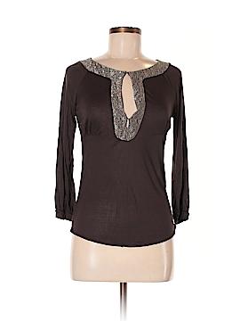Diane von Furstenberg 3/4 Sleeve Top Size M