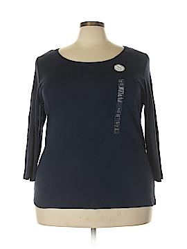 Charter Club Long Sleeve T-Shirt Size 3X (Plus)
