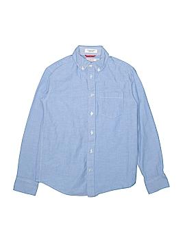 IZOD Long Sleeve Button-Down Shirt Size M (Infants)