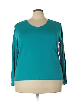 Lane Bryant Long Sleeve T-Shirt Size 22 (Plus)
