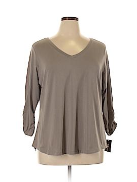 Style&Co Long Sleeve T-Shirt Size 1X (Plus)