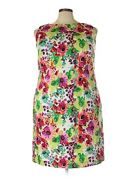 Leslie Fay Casual Dress Size 20 (Plus)