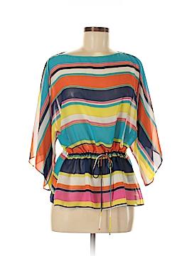 Chaps 3/4 Sleeve Blouse Size M (Petite)
