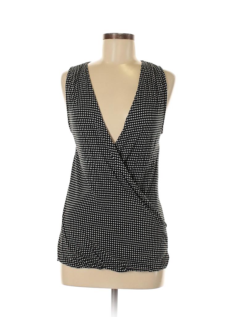 3e9ec2d5943332 Old Navy Print Black Sleeveless Top Size M - 56% off | thredUP