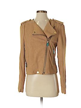 Etcetera Leather Jacket Size 4