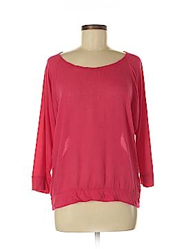 Velvet 3/4 Sleeve Top Size M