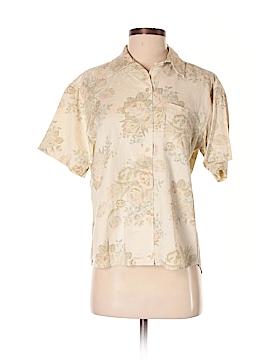 Lauren by Ralph Lauren Short Sleeve Button-Down Shirt Size 4