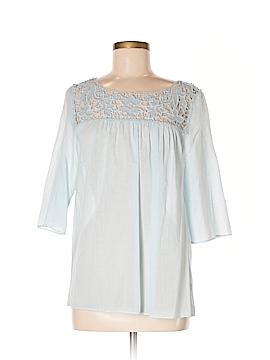 Calypso St. Barth 3/4 Sleeve Blouse Size M