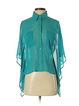 Very J Short Sleeve Blouse Size S