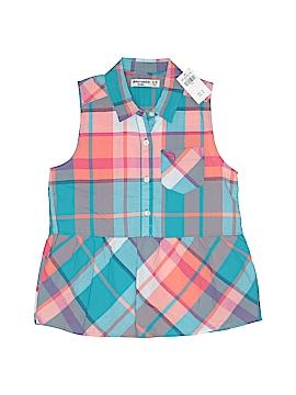 Abercrombie Sleeveless Button-Down Shirt Size 9 - 10