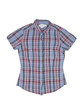 H&M Short Sleeve Button-Down Shirt Size 4