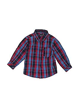 DKNY Long Sleeve Button-Down Shirt Size 24 mo
