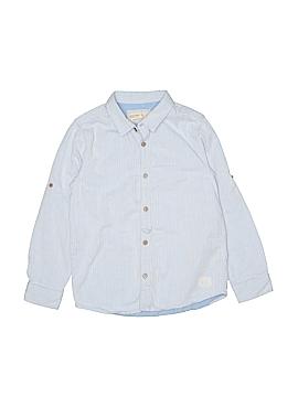 Zara Long Sleeve Button-Down Shirt Size 7