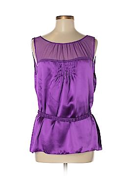 Gianni Bini Sleeveless Silk Top Size 10