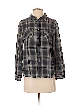 Caslon Long Sleeve Button-Down Shirt Size XS (Petite)