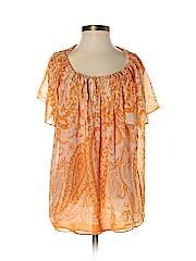 ...I.C.E... Women Short Sleeve Blouse Size 4