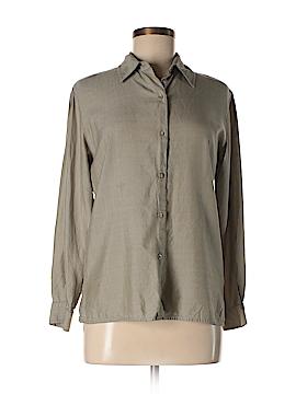 Pendleton Long Sleeve Silk Top Size 6