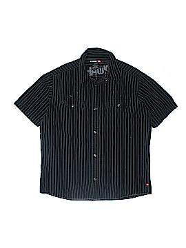 Hawk Short Sleeve Button-Down Shirt Size 18 - 20