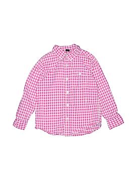Baby Gap Long Sleeve Button-Down Shirt Size 6