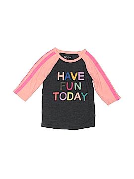 Cat & Jack 3/4 Sleeve T-Shirt Size 4/5