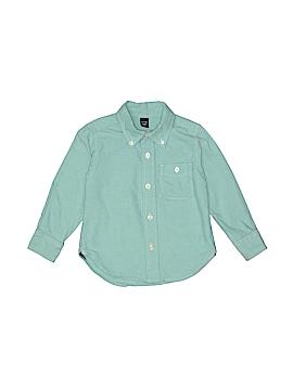 Baby Gap Long Sleeve Button-Down Shirt Size 2