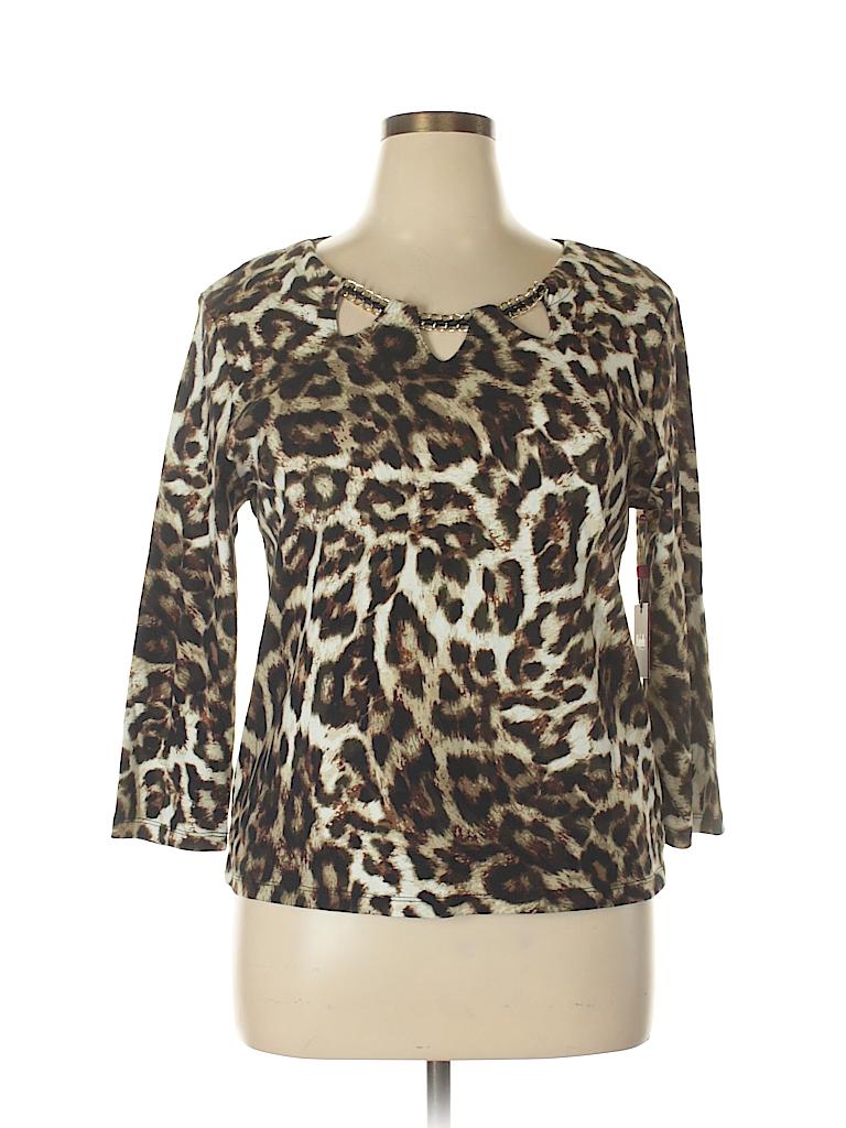 Rafaella Women Pullover Sweater Size XL (Petite)