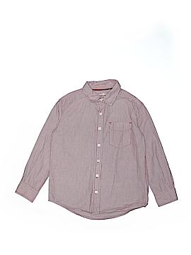 Cherokee Long Sleeve Button-Down Shirt Size S (Kids)
