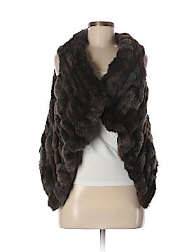 Zara Faux Fur Vest Size S