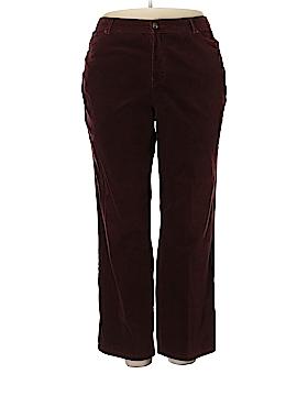 Gloria Vanderbilt Cords Size 18W