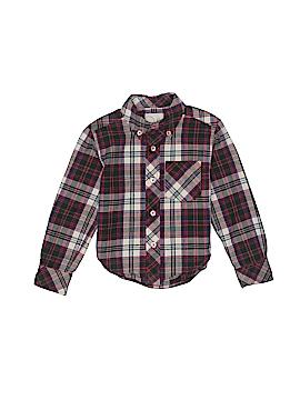 Peek... Long Sleeve Button-Down Shirt Size 2