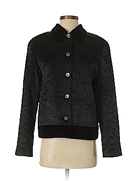 Susan Bristol Silk Blazer Size 8