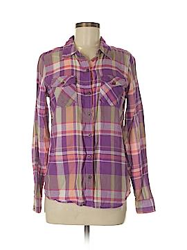 I Love H81 Long Sleeve Button-Down Shirt Size M