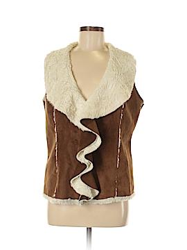 Odyn Faux Fur Vest Size M