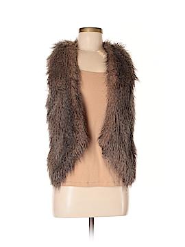 Ella Moss Faux Fur Vest Size XS