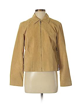SONOMA life + style Leather Jacket Size M (Petite)