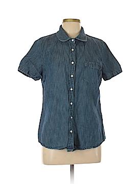 J. Crew Short Sleeve Button-Down Shirt Size 12